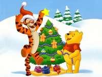 Winnie the Pooh și bradul de Crăciun - Winnie the Pooh. Winnie the Pooh și Crăciun. Sărbătorile magice ale lui Winnie și ale purcelulu