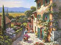 Слънчев Тоскана.