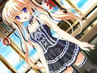 Anime lány - Csillag anime lány háttérkép