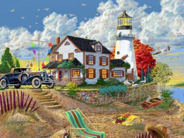 Holiday picture. - Jigsaw puzzle. Picture. Holiday.