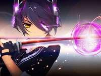 Anime Boy - Star Boy Warrior Hintergrund