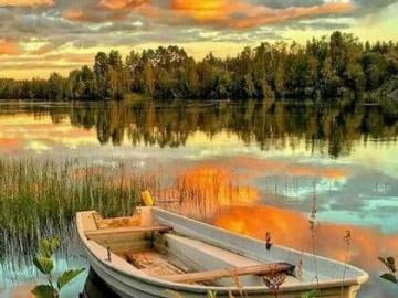 lake view - a beautiful picture showing the peace you can experience by the lake
