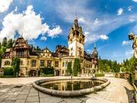 Château de Bran - Château de Bran en Roumanie, belle vue