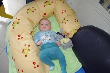 baby jane - baby picture in the suitcase of car