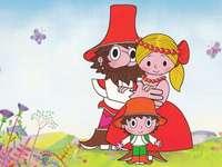 Rumcajs s rodinou