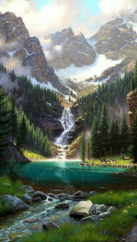 Emerald Lake, Kanada puzzle