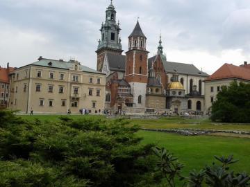 Wawel z Krakowa - w pięknym Krakowie