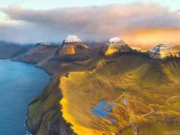 Oszałamiający widok na Wyspy Owcze - oj la la oj la la oj la la