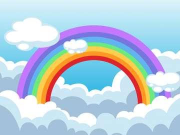 Regenbogen in den Wolken - Regenbogen in den Wolken