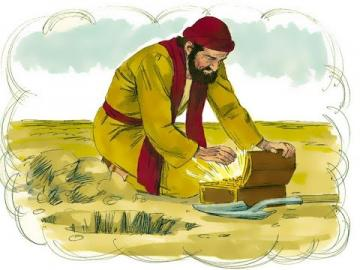 parable - Matthew 13: 44