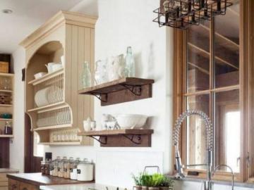 Drewniana kuchnia - Nowoczesna drewniana kuchnia