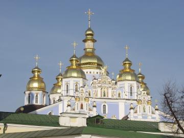 Orthodoxe kerk in Kiev.