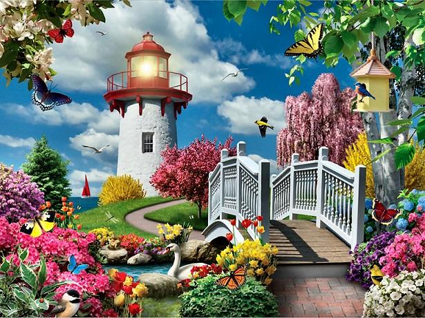 Poza cu flori - Kwiatowa układanka (14×11)