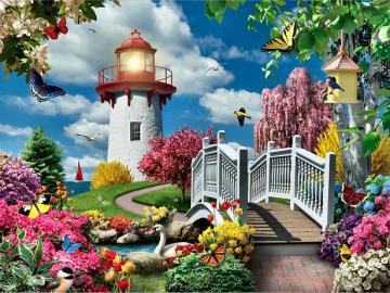 Flower picture. - Floral puzzle ...