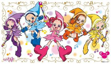 ojamajo doremi - ojamajo doremi all witches