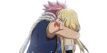 Fairy tail - Lucy and Natsu the perfect love couple