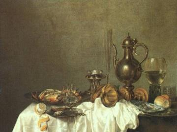 Holenderska martwa natura - obraz holenderskiego malarza
