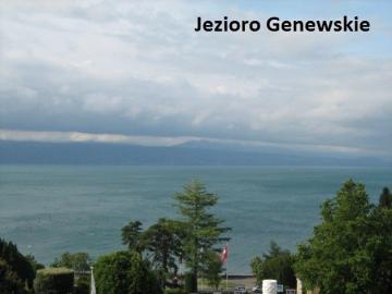 Jezioro Genewskie. - Szwajcaria