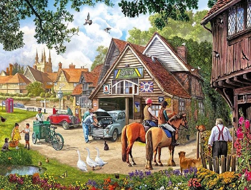Angol vidék - Angol vidéki tájak (15×15)