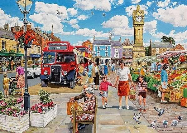 Cidade inglesa - Paisagem da cidade inglesa (10×10)