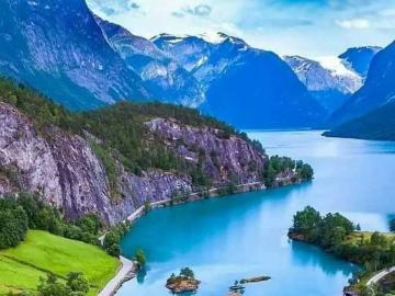 Niesamowite miejsca, Norwegia - Piękny krajobraz Norwegii