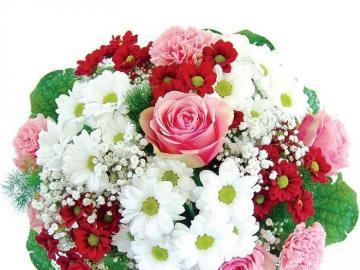 Bukiet wiosenny - Piekny bukiet wiosennych kwiatkow