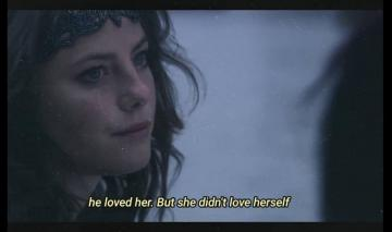 he loved her - he loved her but he didn'd love herself