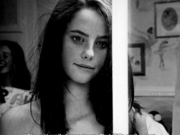 Effy's smile - you don't know me and you never will