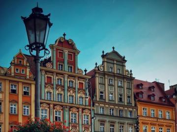 Schöne Wohnungen in Breslau - Rätsel mit schönen Wohnungen in Breslau. Schönes Polen. Reisen, Rätsel.
