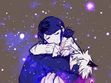marichat - mari y chat, en un abrazo magico