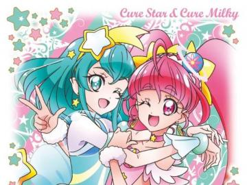 Cure Star & Cure Milky - star twinkle precure cure star and cure milky
