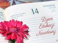 ден на учителя - Страница от календара DEN