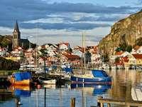Švédsko přístav - Švédsko přístav, Evropa. Krajiny. Švédské pobřeží je 3 218 kilometrů.