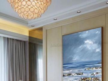 Sala de estar - Tema del mar en la sala de estar