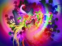 Цветна абстракция - Пример за красива цветна абстракция
