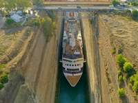 Corinth Canal. - Puzzle: Corinth Canal.