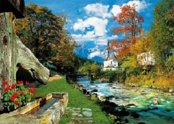 In the Bavarian Alps. - Puzzle: in the Bavarian Alps.