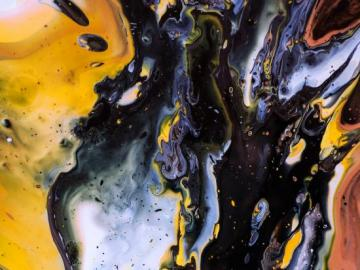An abstract picture - An example of an artistic picture, abstraction