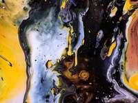 Абстрактна картина - Пример за художествена картина, абстракция