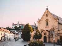 Schöne Slowakei - Reisen, Slowakei. Wunderschöne Puzzle-Landschaft