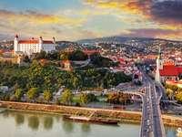 Luftbild der Slowakei - Landschaften, Reisen, Slowakei aus der Vogelperspektive
