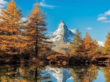 Matterhorn in autumn. - Landscape. Matterhorn in autumn.