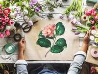 Florist im Land der Blumen