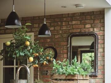 Oliwkowa kuchnia - Aranżacja kuchni, kolor przewodni: oliwkowy.
