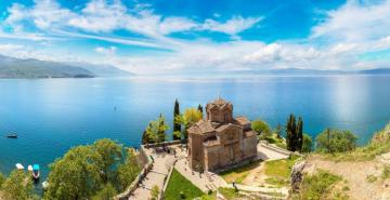 Beautiful Macedonia in the Balkans - The charms of Macedonia, the Balkans. Puzzle landscapes.