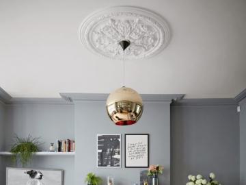 Schludny salon - Aranżacja salonu, styl minimalistyczny.