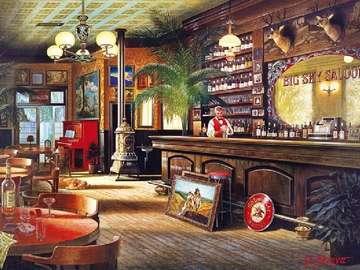 Sailor's tavern - The interior of the tavern, the innkeeper,