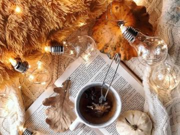 Autumn tea - A moment for autumn tea