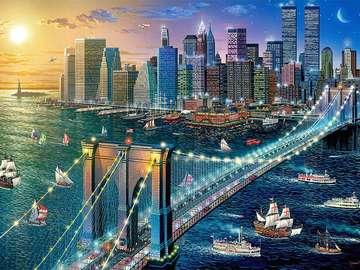 Nova Iorque - EUA. Nova Iorque Brooklyn.