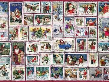 Christmas stamps. - Christmas: Christmas stamps.